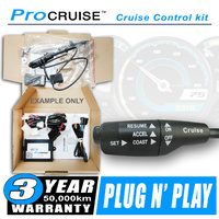 Cruise Control Kit Hyundai Accent 1.4 Petrol Auto 2011-ON (With LH Stalk control switch)